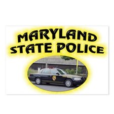 Maryland State Police Postcards (Package of 8)