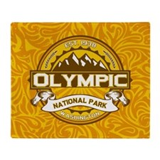 Olympic Goldenrod Throw Blanket