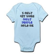 Ugly People Infant Bodysuit