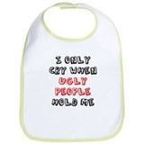 Ugly People Bib