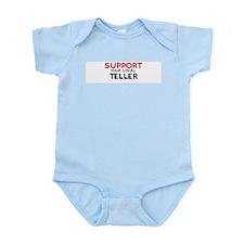Support:  TELLER Infant Creeper