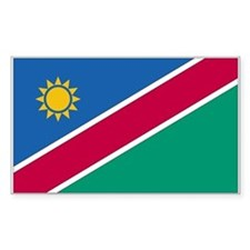 Namibia Rectangle Decal