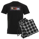 punks OiSKINBLU Men's Dark Pajamas