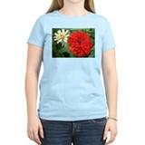 Smashing Red Zinnia T-Shirt