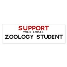 Support: ZOOLOGY STUDENT Bumper Bumper Sticker