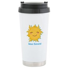 Solar Powered Ceramic Travel Mug