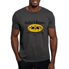 Hallie's Heroes Bats T-Shirt