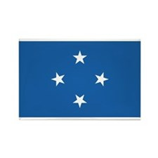 Micronesia Rectangle Magnet