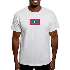 Maldives Ash Grey T-Shirt