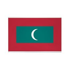 Maldives Rectangle Magnet