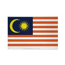 Malaysia Rectangle Magnet