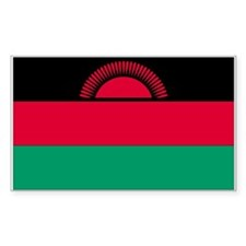Malawi Rectangle Decal