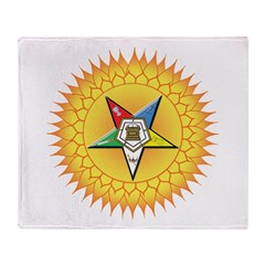OES Star in the sun Throw Blanket