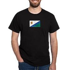 Lesotho Black T-Shirt
