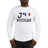 J aime Nicolas Long Sleeve T-Shirt