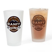 Banff Natl Park Vibrant Drinking Glass
