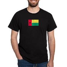 Guinea-Bissau Black T-Shirt