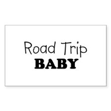 Road Trip Baby Rectangle Decal