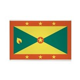 Grenada Rectangle Magnet