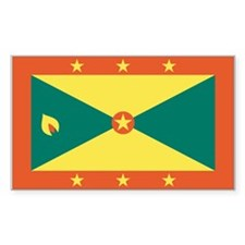 Grenada Rectangle Decal