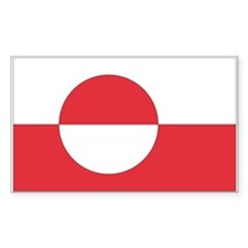 Greenland Rectangle Decal