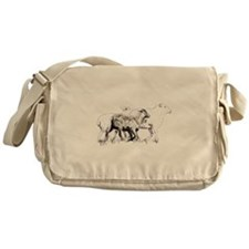 Cute Belgian tervuren Messenger Bag