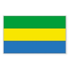 Gabon Rectangle Decal
