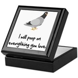 Poop On Love Keepsake Box