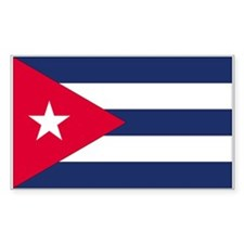 Cuba Rectangle Decal
