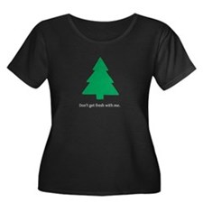 Women's Plus Size Scoop Neck Fresh T-Shirt