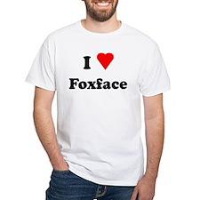 I Heart Love Foxface Shirt