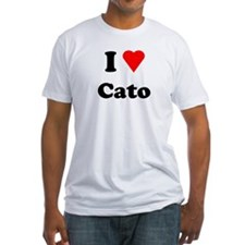 I Heart Love Cato Fitted T-Shirt