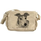 Zoie, Greyhound Messenger Bag