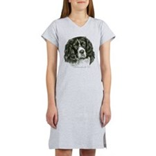 Cocker Spaniel (Parti-color) Women's Nightshirt