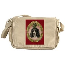 English Springer Spaniel Mist Messenger Bag