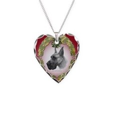 Great Dane Mistletoe Necklace