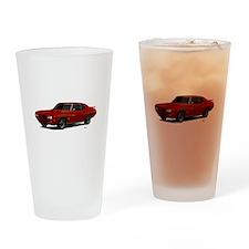 1970 GTO Judge Cardinal Red Drinking Glass