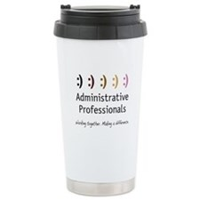 Working Together Ceramic Travel Mug