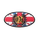 Oi! Union Jack OiSKINBLU Patches