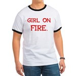 Girl On Fire Ringer T