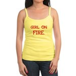 Girl On Fire Jr. Spaghetti Tank