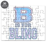 B is for Bling Puzzle