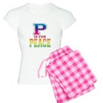 P is for Peace Women's Light Pajamas