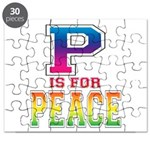 P is for Peace Puzzle