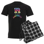 R is for Rainbow Men's Dark Pajamas