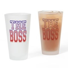The Boss Drinking Glass