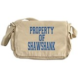 Property of Shawshank Messenger Bag