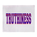Truthiness Throw Blanket