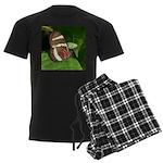 Butterfly pic Men's Dark Pajamas