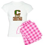 C is for Christmas Women's Light Pajamas